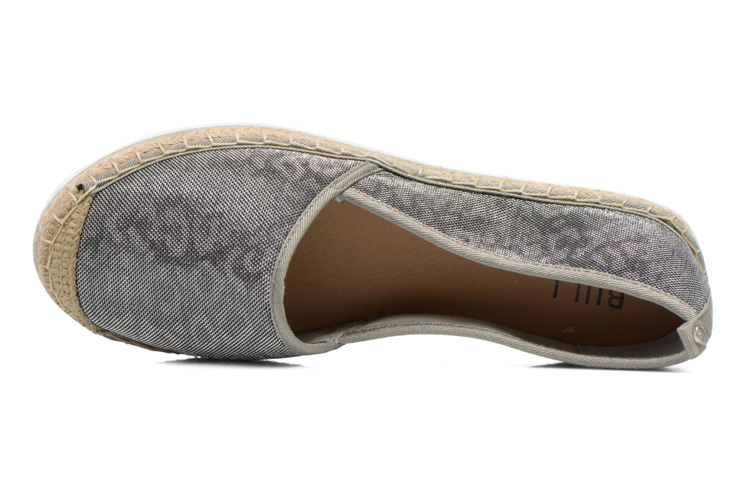 Espadrilles Bullboxer Fedumi Silver view from the left