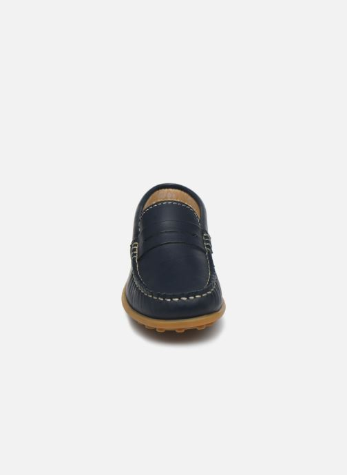 Mocassins Aster Mocadi Bleu vue portées chaussures