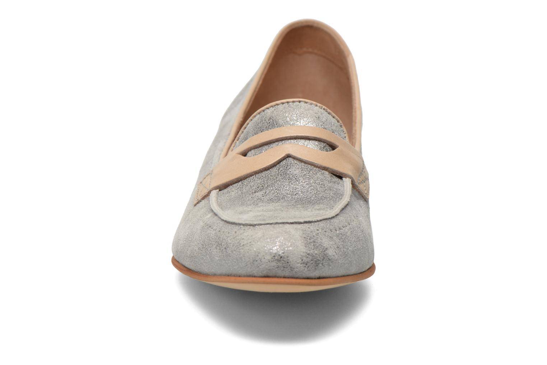 Mocassins Muratti Lou-lou Argent vue portées chaussures