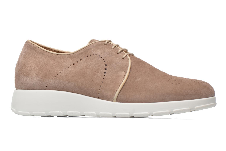 Chaussures à lacets Muratti Roche Beige vue derrière