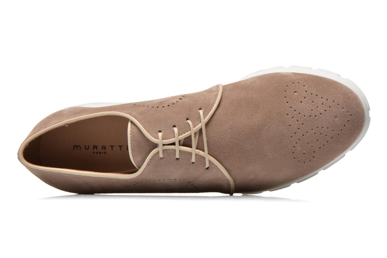 Chaussures à lacets Muratti Roche Beige vue gauche