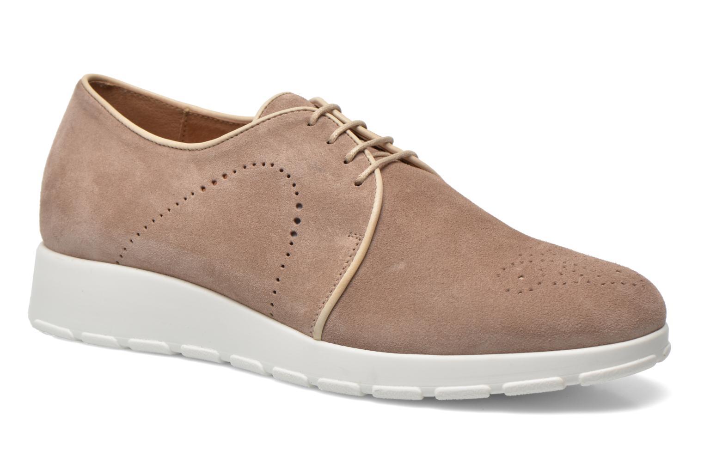 Chaussures à lacets Muratti Roche Beige vue détail/paire
