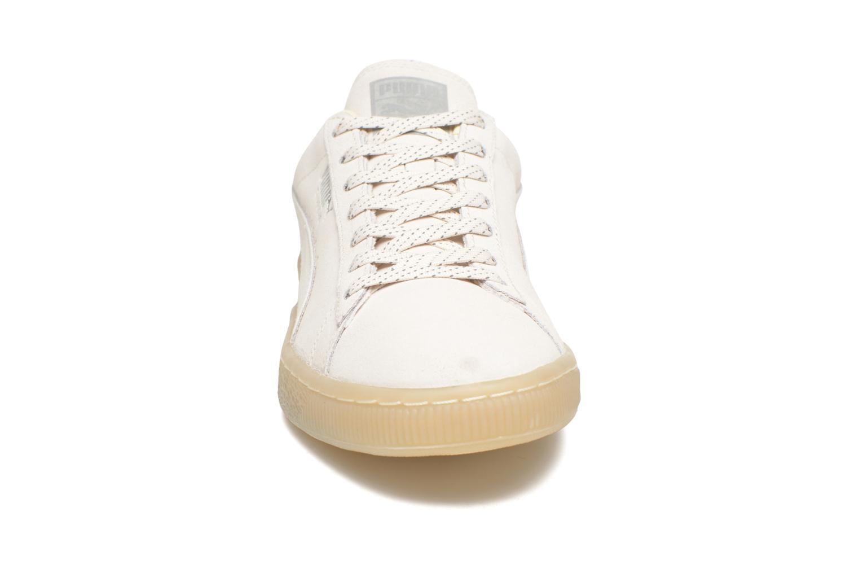 Baskets Puma Suede Mono Ref Beige vue portées chaussures