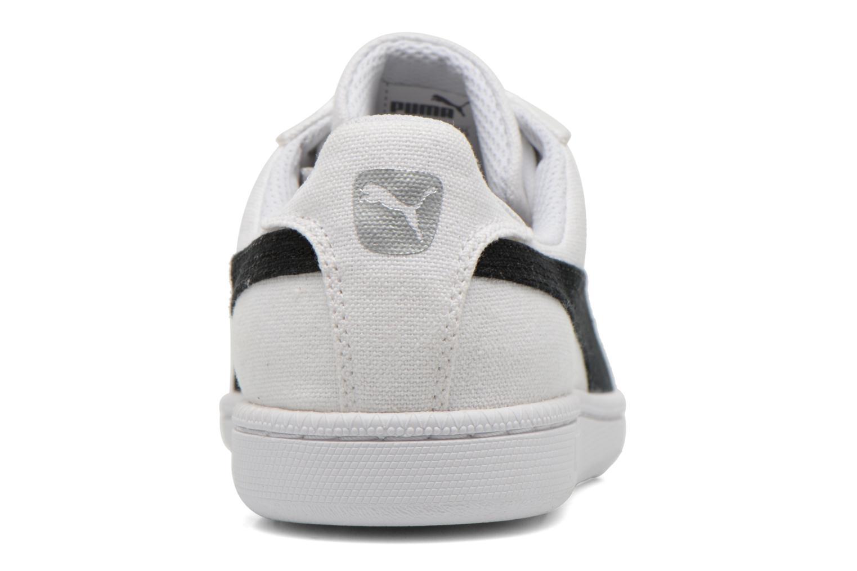 Baskets Puma Puma Smash Cv Blanc vue droite