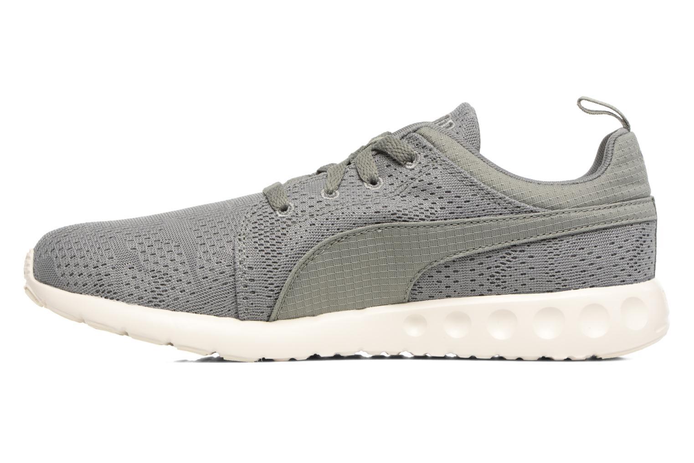 Chaussures de sport Puma Carson Camo Mesh Vert vue face