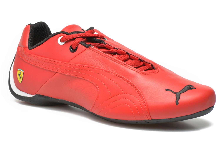 Baskets Puma Future Cat Leather SF Rouge vue détail/paire