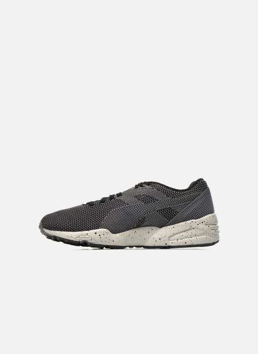 Baskets Puma R698 Knit Mesh V2.1 Trinomic Noir vue face