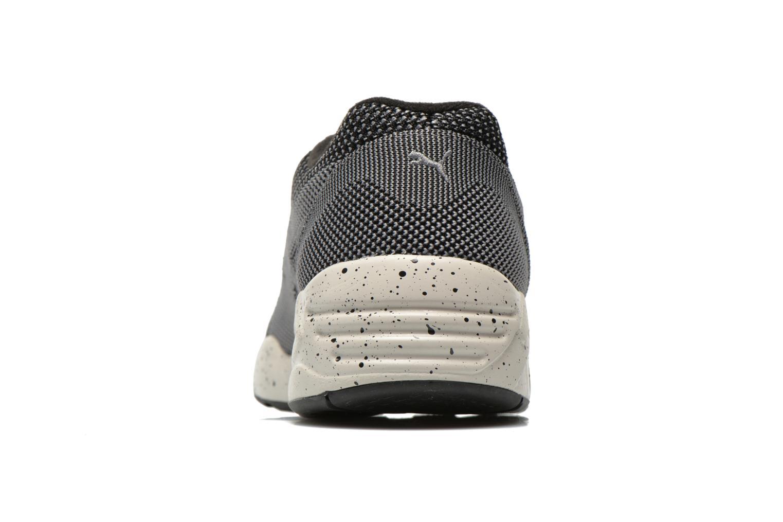 Sneaker Puma R698 Knit Mesh V2.1 Trinomic schwarz ansicht von rechts