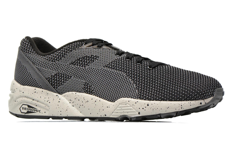 Sneaker Puma R698 Knit Mesh V2.1 Trinomic schwarz ansicht von hinten