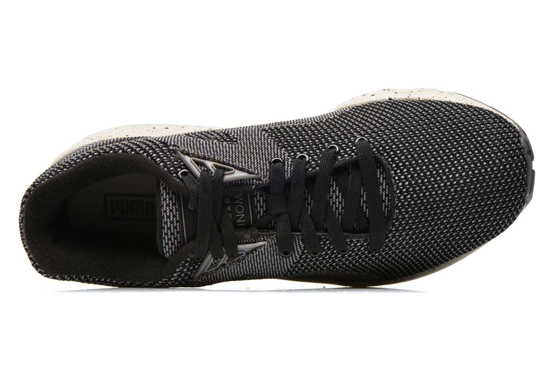 Sneaker Puma R698 Knit Mesh V2.1 Trinomic schwarz ansicht von links