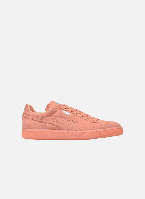 Trainers Puma WNS Suede Mono Ref Pink back view