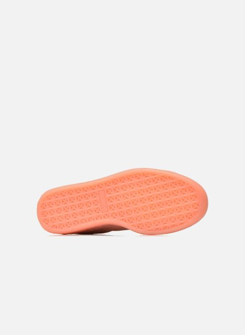 Trainers Puma WNS Suede Mono Ref Pink view from above