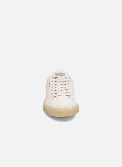 Sneakers Puma WNS Suede Mono Ref Bianco modello indossato