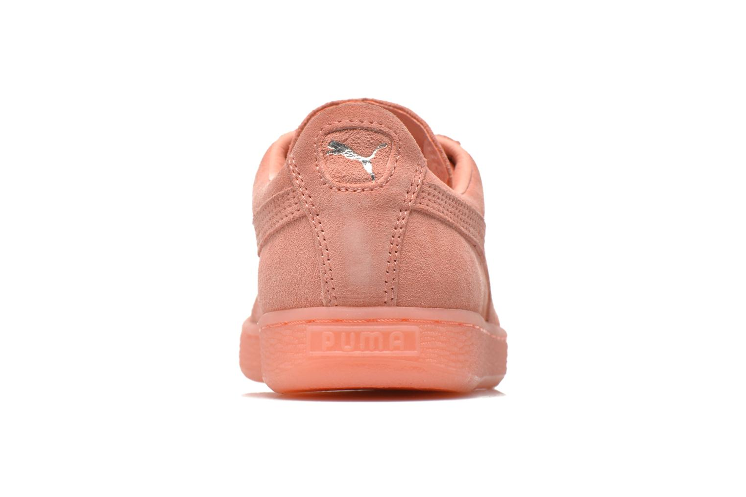 Trainers Puma WNS Suede Mono Ref Pink view from the right