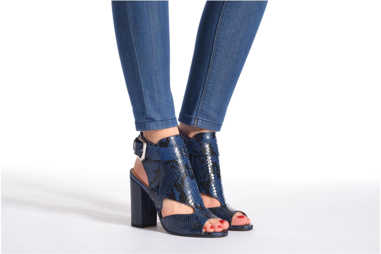 Sandales et nu-pieds Rebecca Balducci Athena 2 Bleu vue bas / vue portée sac