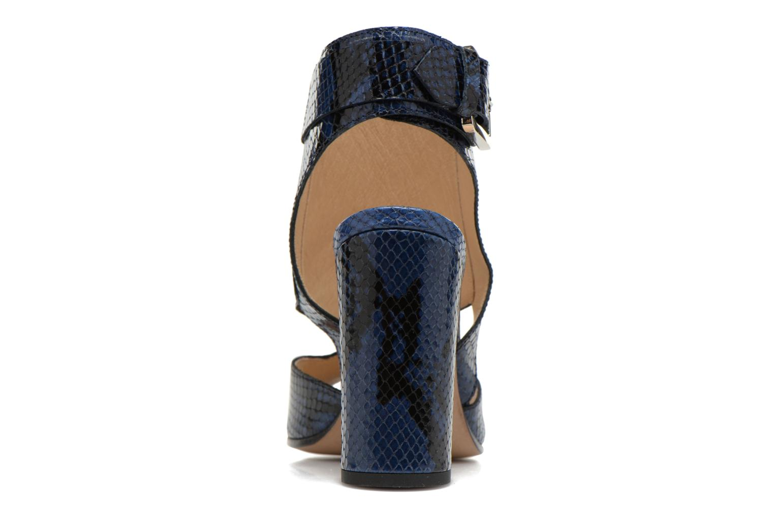 Sandals Rebecca Balducci Athena 2 Blue view from the right