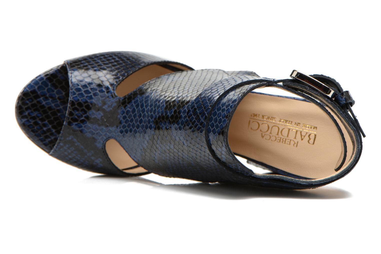 Sandales et nu-pieds Rebecca Balducci Athena 2 Bleu vue gauche