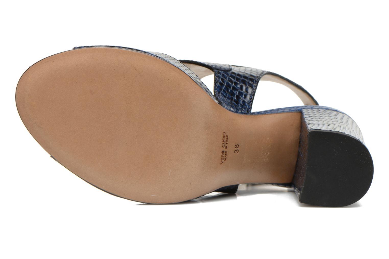 Sandales et nu-pieds Rebecca Balducci Athena 2 Bleu vue haut