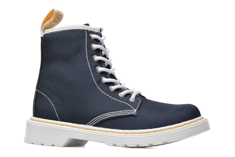 Bottines et boots Dr. Martens Juniors Delaney Lace Boot Canvas Bleu vue derrière