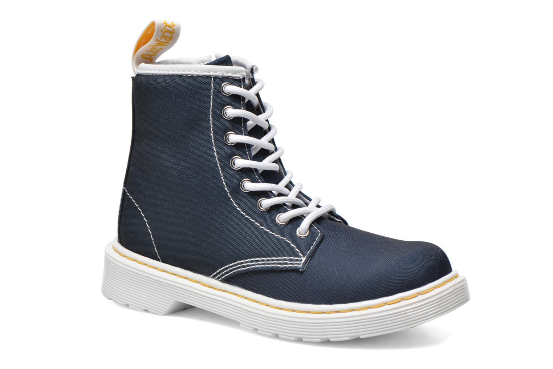 Bottines et boots Dr. Martens Juniors Delaney Lace Boot Canvas Bleu vue détail/paire