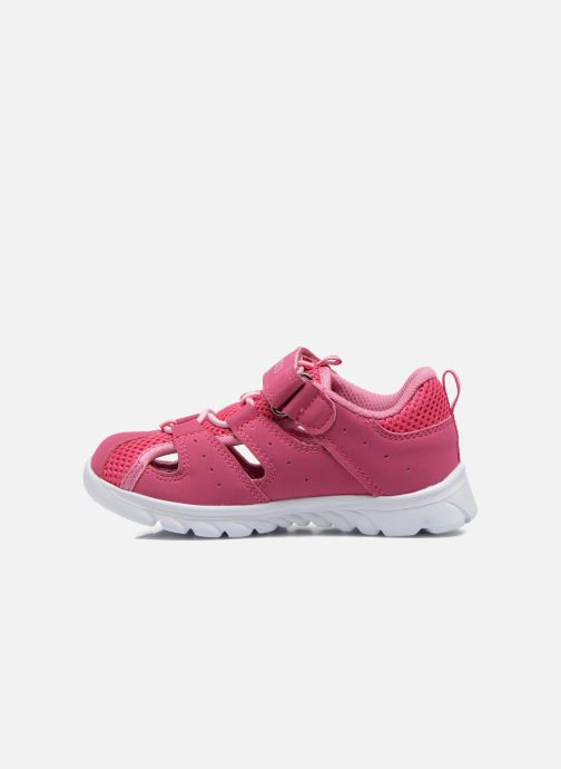 Baskets Kangaroos Rock lite Rose vue face
