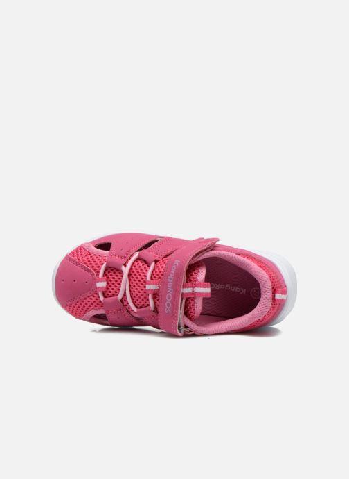 Sneaker Kangaroos Rock lite rosa ansicht von links