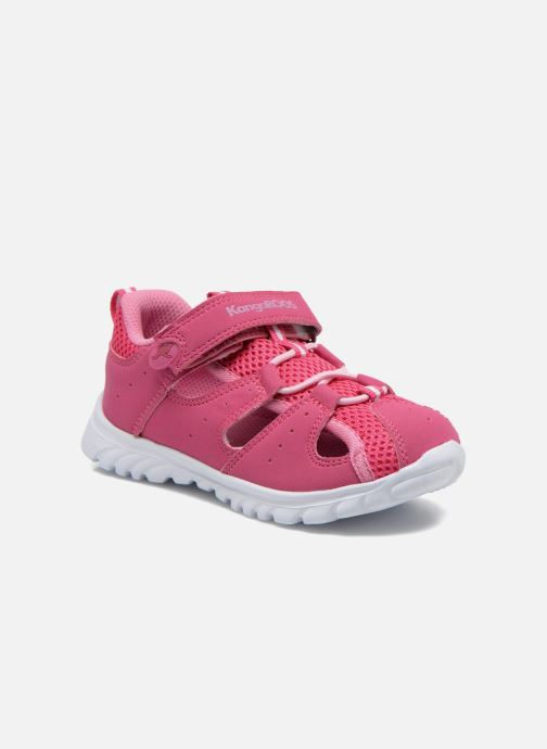 Trainers Kangaroos Rock lite Pink detailed view/ Pair view