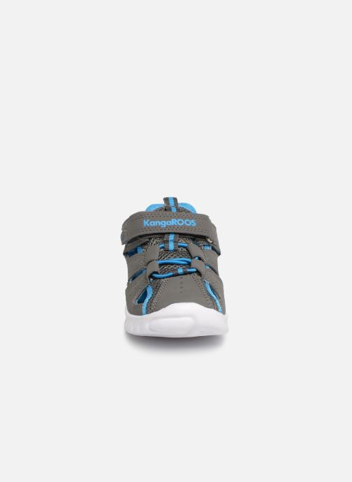 Baskets Kangaroos Rock lite Gris vue portées chaussures