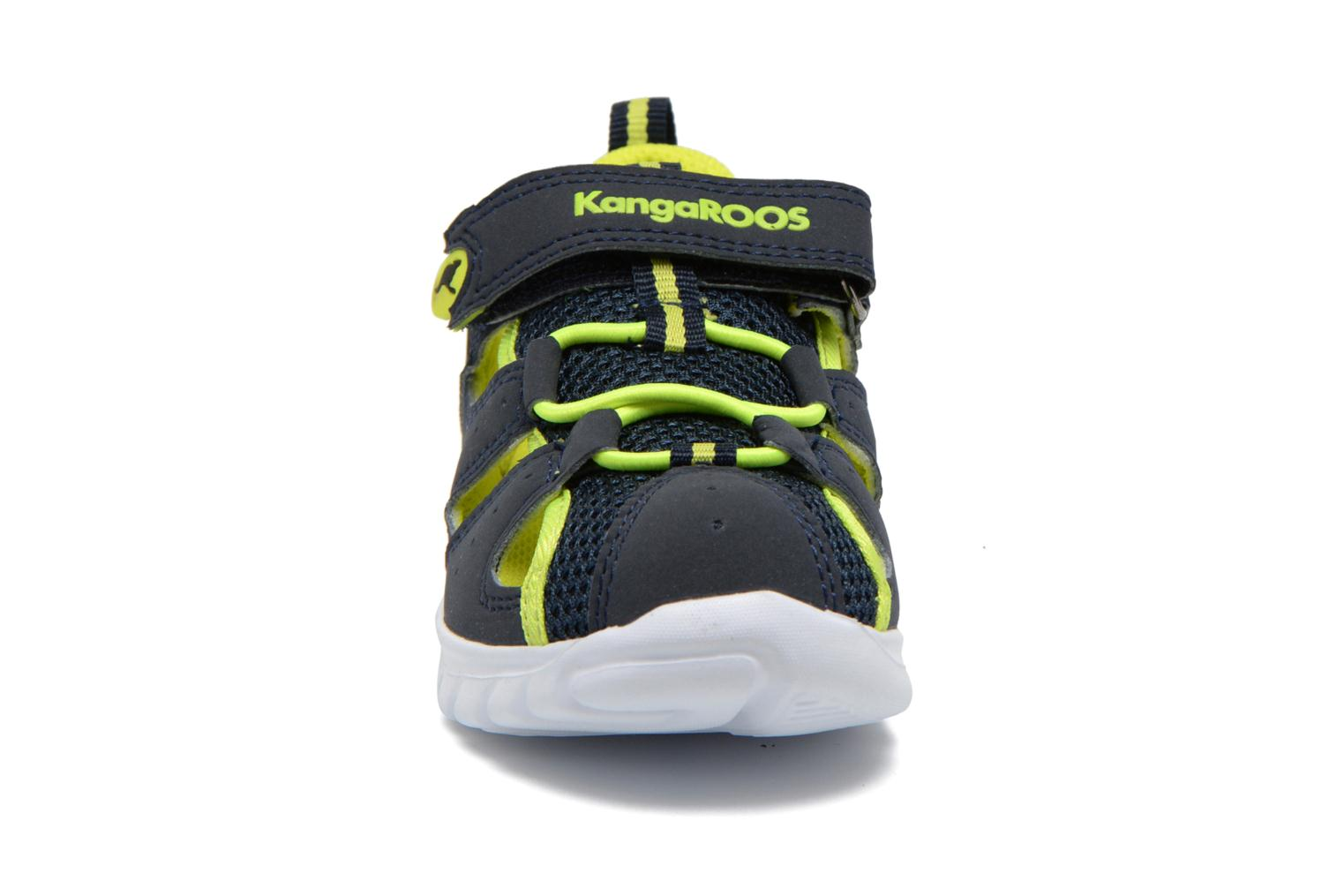 Trainers Kangaroos Rock lite Blue model view