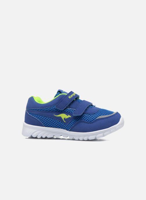 Sneaker Kangaroos Inlite 3003B blau ansicht von hinten