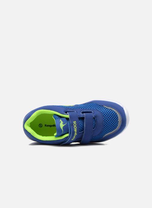 Sneaker Kangaroos Inlite 3003B blau ansicht von links