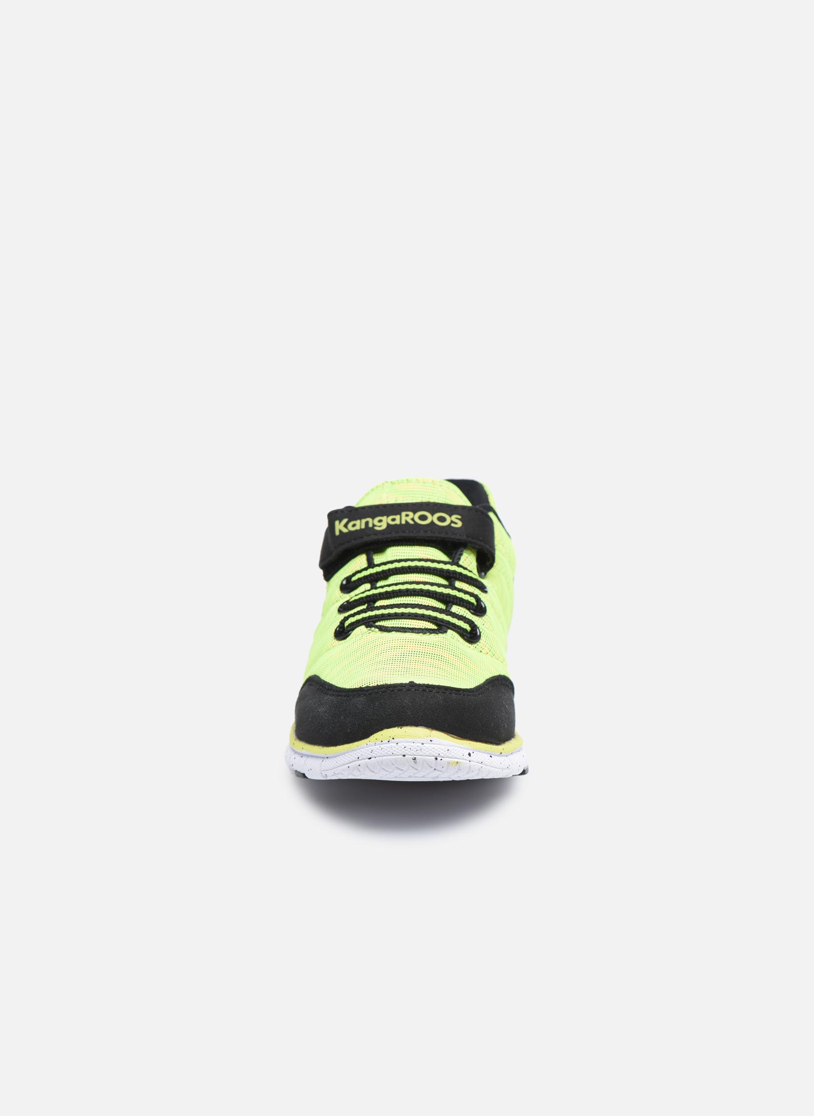 Baskets Kangaroos Nuri-Zebra Noir vue portées chaussures