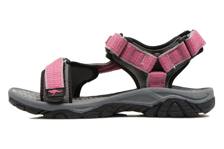 Sandals Kangaroos KS-22 Pink front view