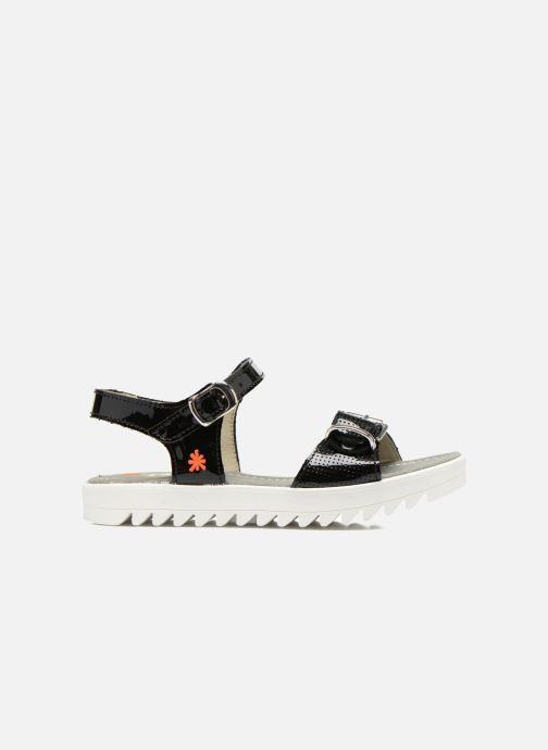 Sandales et nu-pieds Art 4A-322 Atenas Noir vue derrière
