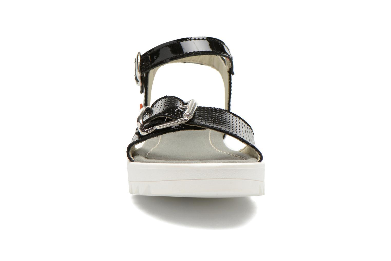 Sandales et nu-pieds Art 4A-322 Atenas Noir vue portées chaussures