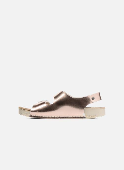 Sandales et nu-pieds Art A433 I Play Or et bronze vue face