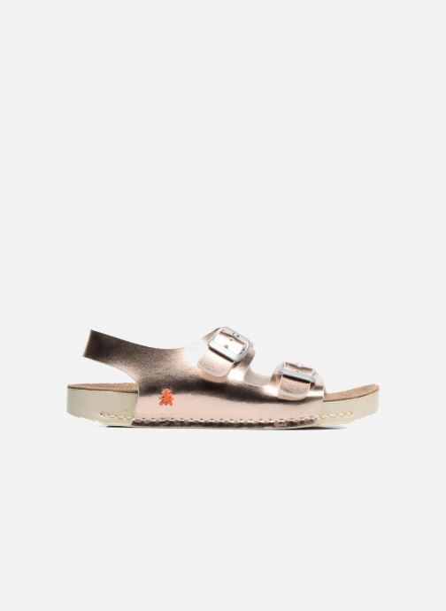Sandales et nu-pieds Art A433 I Play Or et bronze vue derrière