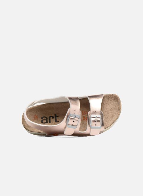 Sandalen Art A433 I Play gold/bronze ansicht von links