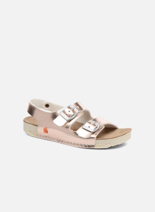 Sandales et nu-pieds Art A433 I Play Or et bronze vue détail/paire
