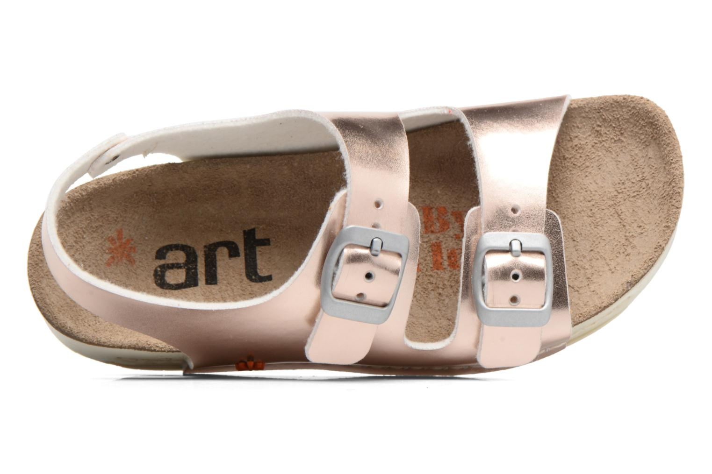 Sandalias Art A433 I Play Oro y bronce vista lateral izquierda