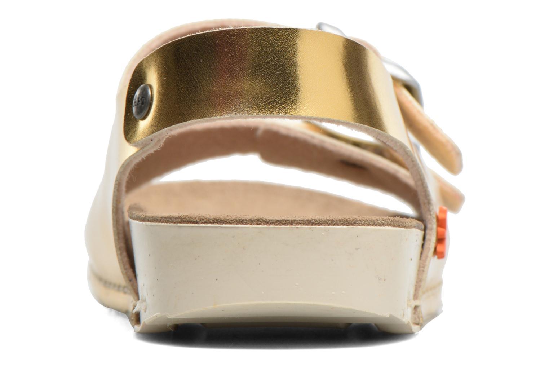 Sandales et nu-pieds Art A433 I Play Or et bronze vue droite