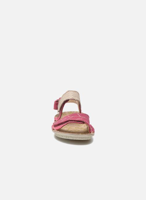 Sandals El Naturalista Kiri 5E-284 Pink model view