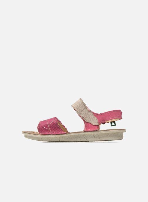 Sandals El Naturalista Kiri 5E-284 Pink front view