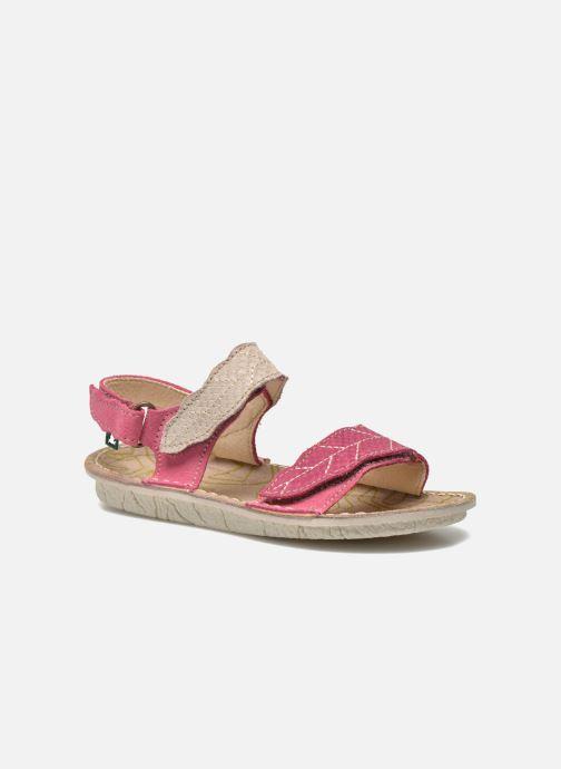 Sandals El Naturalista Kiri 5E-284 Pink detailed view/ Pair view