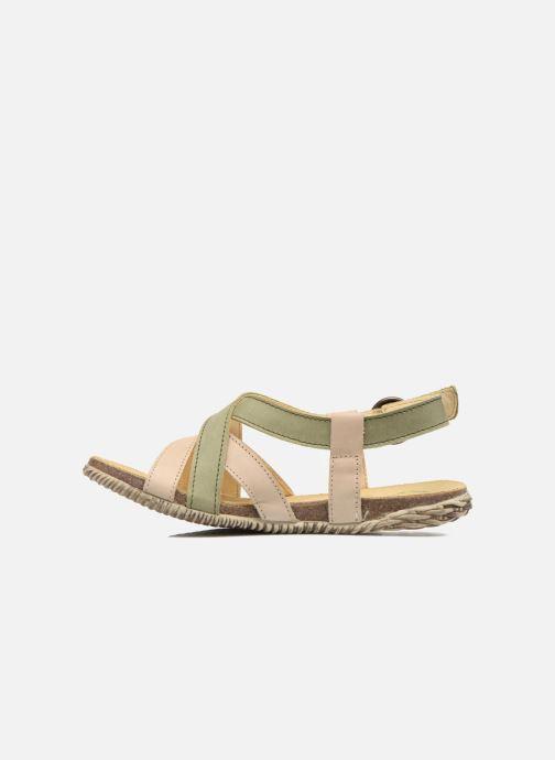 Sandales et nu-pieds El Naturalista Tayrona E508 Vert vue face