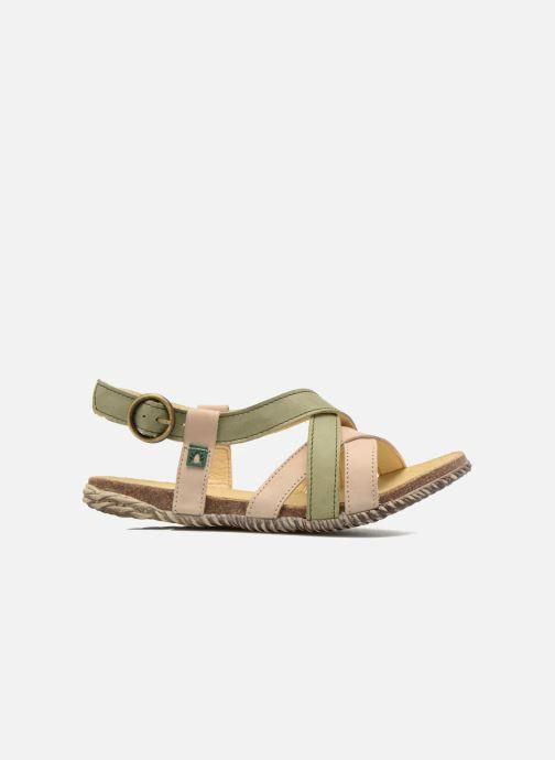 Sandales et nu-pieds El Naturalista Tayrona E508 Vert vue derrière