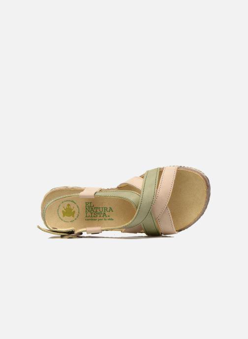 Sandales et nu-pieds El Naturalista Tayrona E508 Vert vue gauche