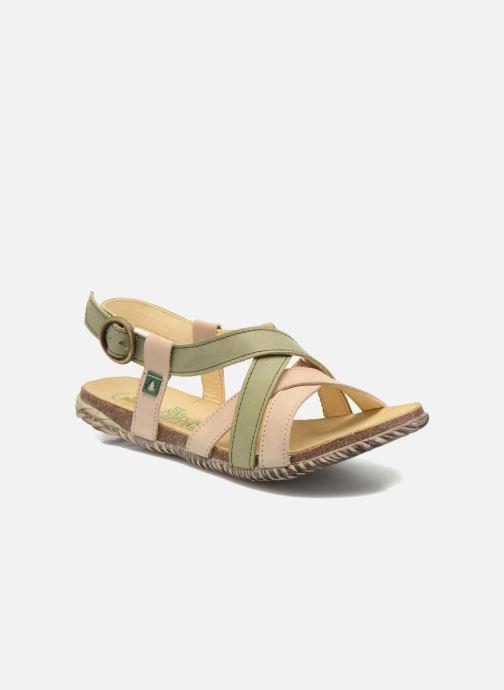Sandales et nu-pieds El Naturalista Tayrona E508 Vert vue détail/paire