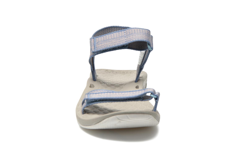 Zapatillas de deporte Columbia Sunbreeze Vent Avalon Azul vista del modelo