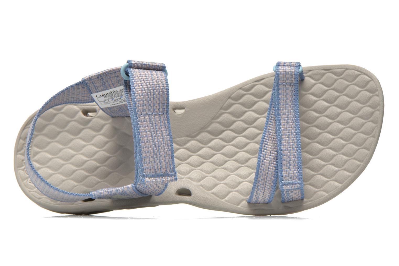Zapatillas de deporte Columbia Sunbreeze Vent Avalon Azul vista lateral izquierda